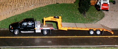 Toy Flatbed Trailer