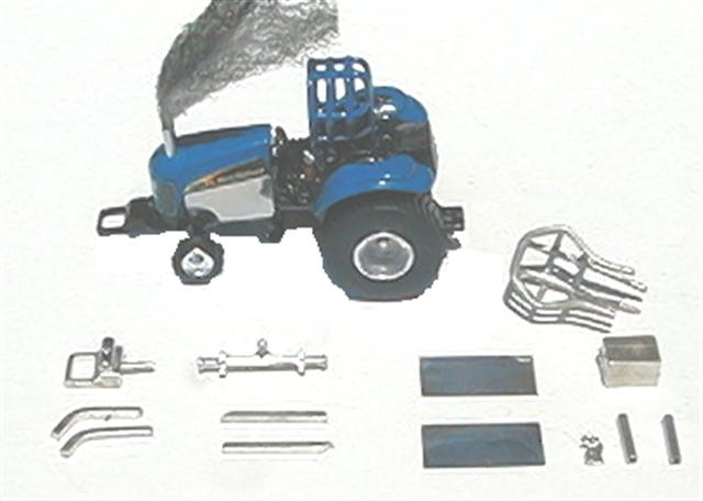Tractor Roll Cage Kits : Pulling tractor kit revised front weight bracket straight